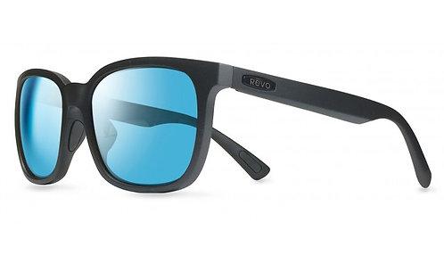 משקפי שמש REVO SLATER   MATTE BLACK   BLUE WATER