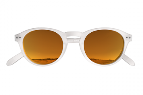 Blueberry Sunglasses L+, Crystal, Sunlight Red mirror