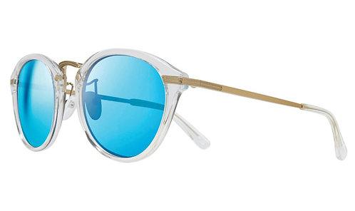 משקפי שמש REVO QUINN | CLEAR CRYSTAL/GOLD | H2O BLUE