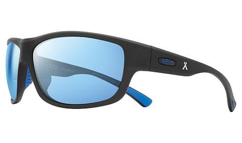 משקפי שמש REVO X BEAR GRYLLS CAPER | MATTE BLACK | BLUE WATER