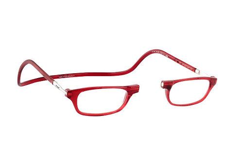 משקפי קריאה Clic Classic Red