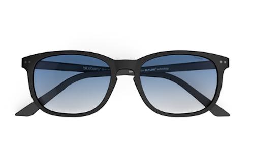 Blueberry Sunglasses XL, Navy, Blue gradient