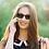 Thumbnail: Blueberry Sunglasses XL, Tortoise, Green
