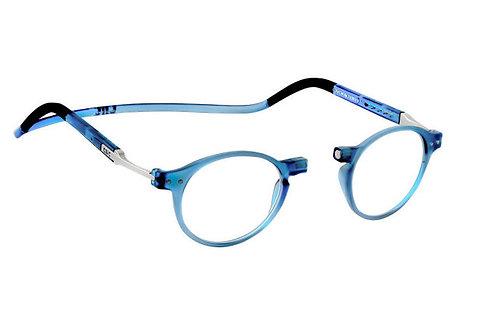משקפי קריאה Clic FLEX Brooklyn Blue Jeans