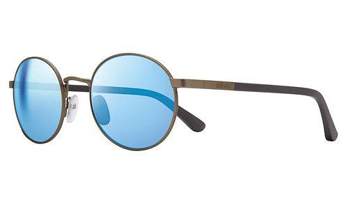 משקפי שמש REVO RILEY   MATTE GUNMETAL   BLUE WATER