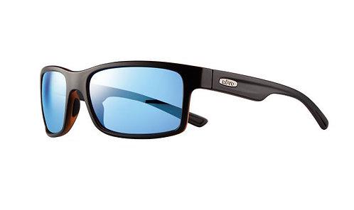 משקפי שמש REVO | CRAWLER | MATTE BLACK/TORTOISE | BLUE WATER