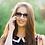 Thumbnail: Blueberry Sunglasses XL, Gray, Purple gradient