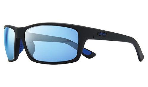 משקפי שמש REVO X BEAR GRYLLS | REBEL | MATTE BLACK | BLUE WATER