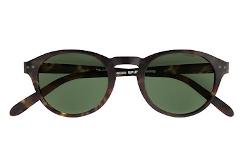Blueberry Sunglasses L+, Tortoise, Green