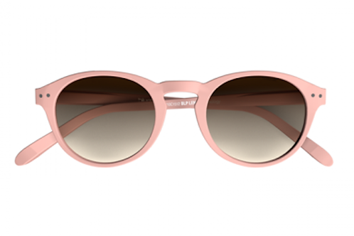 Blueberry Sunglasses L+, Pink, Brown Gradient