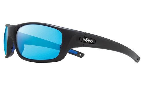 משקפי שמש REVO JASPER | MATTE BLACK | H2O BLUE