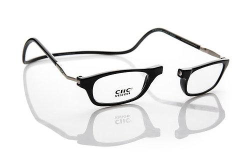 משקפי קריאה Clic Classic XL Black