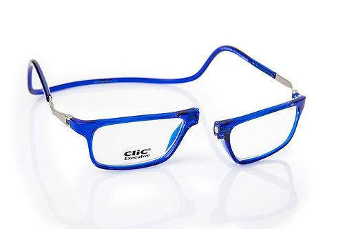 משקפי קריאה Clic Executive Blue