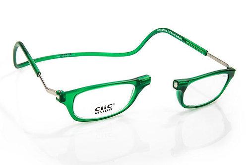 משקפי קריאה Clic Classic XL Emerald