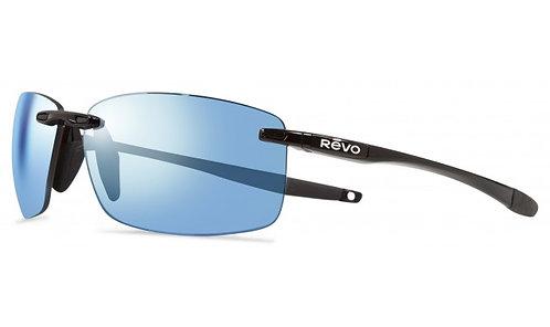 משקפי שמש REVO | DESCEND XL | BLACK | BLUE WATER