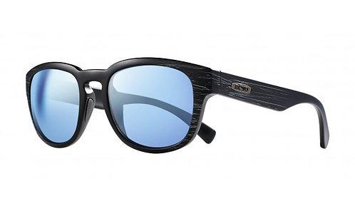 משקפי שמש REVO   ZINGER   MATTE BLACK SCRATCH   BLUE WATER