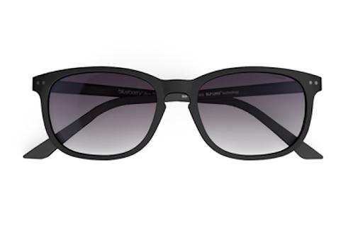 Blueberry Sunglasses XL, Gray, Purple gradient