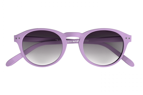 Blueberry Sunglasses L+, Lilacs, Purple gradient