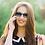 Thumbnail: Blueberry Sunglasses XL, Navy, Blue gradient