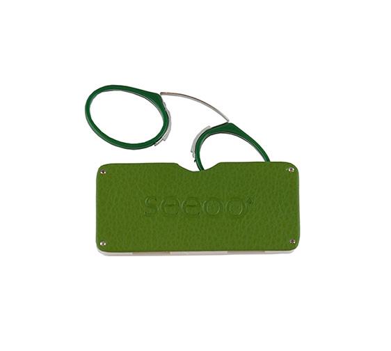 קלסיק עור ירוק