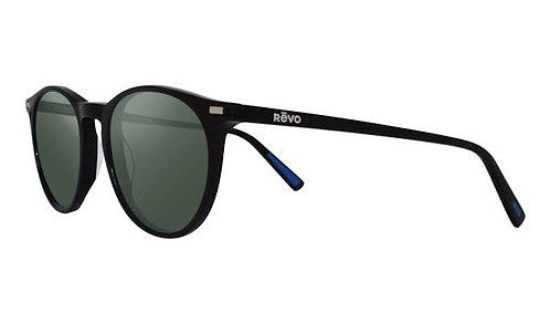 משקפי שמש REVO SIERRA | BLACK | SMOKY GREEN