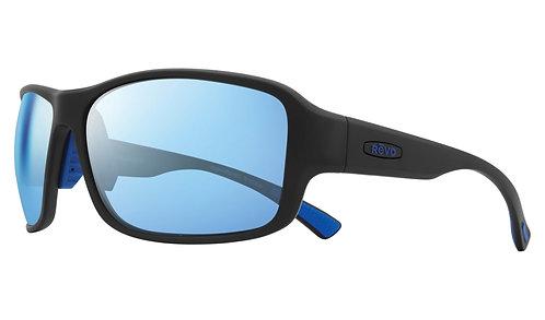 משקפי שמש REVO BORDER   MATTE BLACK   BLUE WATER