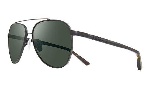 משקפי שמש REVO ARTHUR   BLACK   SMOKY GREEN