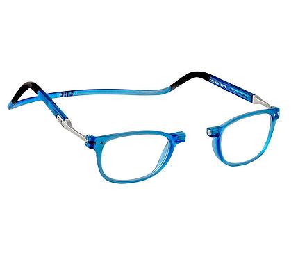 משקפי קריאה Clic FLEX Wallstreet Blue Jeans