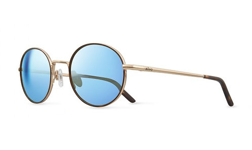 משקפי שמש REVO   BRAYTON   GOLD   BLUE WATER