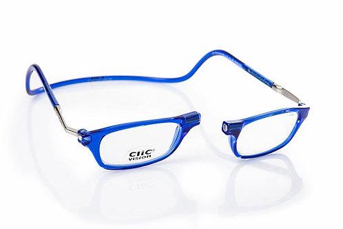 משקפי קריאה Clic Classic XL Blue