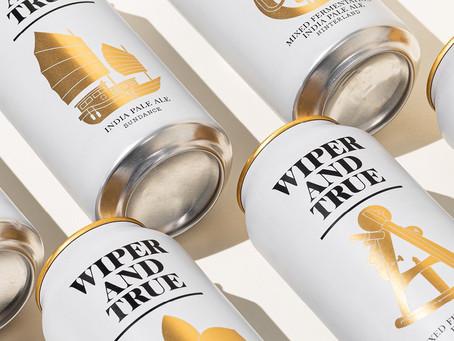 Your Moment of Design Zen: Wiper and True Beer
