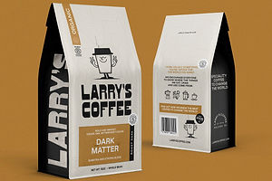 Larry's Coffee: An Energetic Refresh for an Eco-Friendly Brand