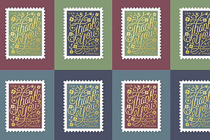 A Graphic Designer's Stamp Collection