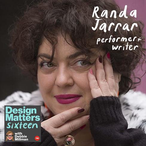 Design Matters: Randa Jarrar