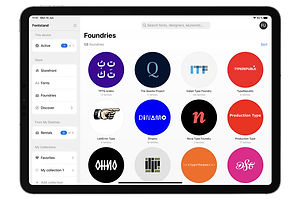 Fontstand Brings Top-Shelf Typefaces to the iPad