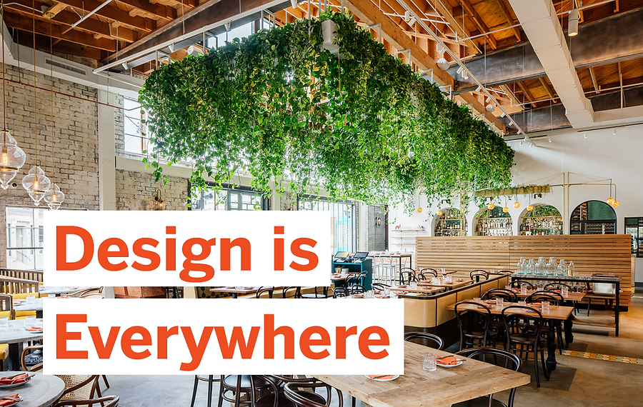 Your Table is Ready: Designing the Restaurant Experience