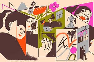 Mailchimp Celebrates Its Illustrators: Franz Lang