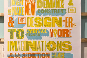 Rick Griffith: A Love Letter to Design, a List of Demands, and a Stern Look