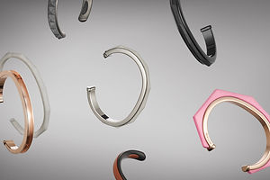 Brand of the Day: Nyyukin, Jewelry Inspired by Graphic Design