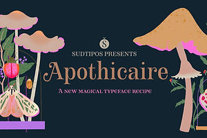 Type Tuesday: The Flair of Apothicaire