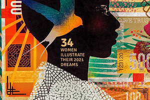 Wander Magazine: 34 Women From Around the Globe Illustrate Their 2021 Dreams