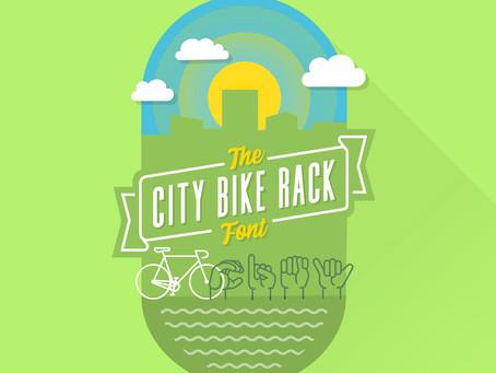 Type Tuesday: The City Bike Rack ASL Font