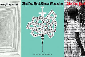 60 Powerful New York Times Magazine Covers That Tell the Story of 2020 and Beyond