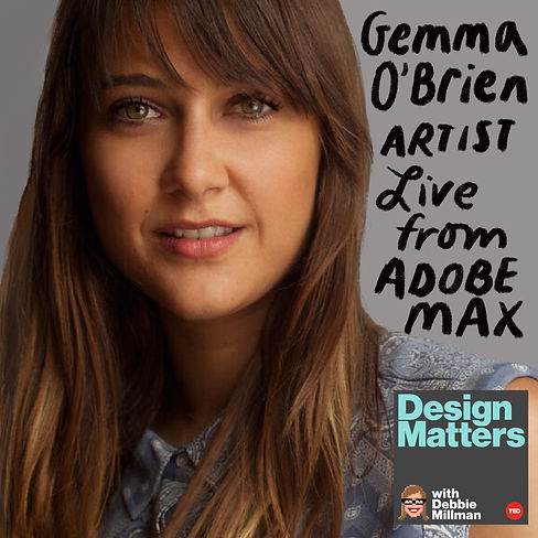 Design Matters Live: Gemma O'Brien