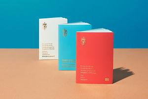 Your Moment of Design Zen: Neue's New Norwegian Passports