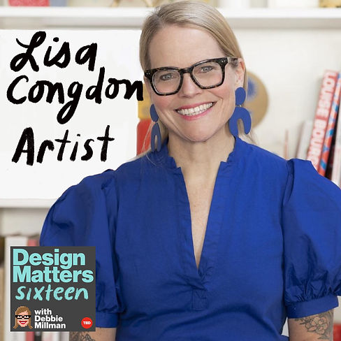 Design Matters From the Archive: Lisa Congdon