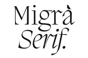 Migra Serif Takes Flight