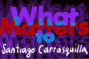 Santiago Carrasquilla on the Prize of Process and the Catharsis in Crying