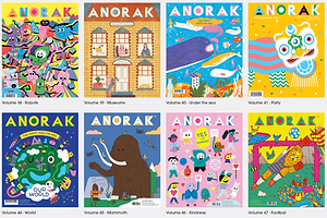 "Your Moment of Design Zen: ""Anorak"" and ""Dot"" Magazines"