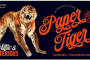 Type Tuesday: The Feline Flair of Paper Tiger